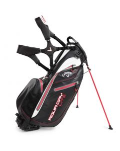 Callaway Aqua Dry Lite Stand Bag Black/White/Red
