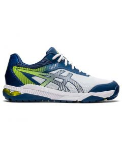 Asics Gel Course Ace Golf Shoes White Pure Silver Profile
