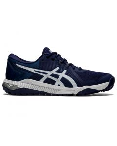 Asics Gel Course Glide Golf Shoes Peacoat Glacier Grey Profile