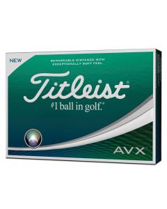 Titleist Prior Generation AVX White Golf Balls