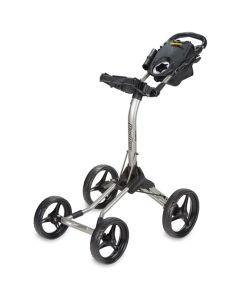 BagBoy 2017 Quad XL Push Cart Matte Black/Yellow