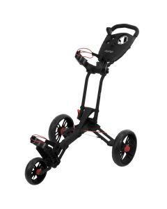 Bagboy Spartan Push Cart Black Red Hero