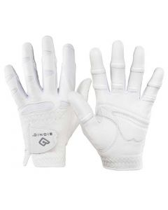 Bionic Women's StableGrip Natural Fit Golf Glove White