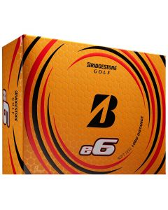 Bridgestone E6 White Golf Balls Lid