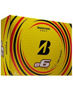 Bridgestone E6 Yellow Golf Balls Lid