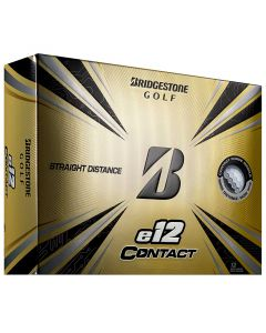 Bridgestone E12 Contact White Golf Balls Lid