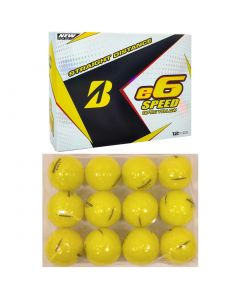 Bridgestone e6 Speed Yellow Golf Balls