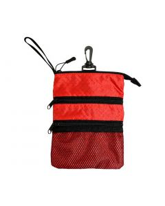 Pro Active Sports Caddy Pouch Red/Black