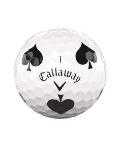 Callaway Chrome Soft Truvis Suits Spades Single Golf Ball