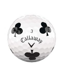 Callaway Chrome Soft Truvis Suits Clubs Single Golf Ball