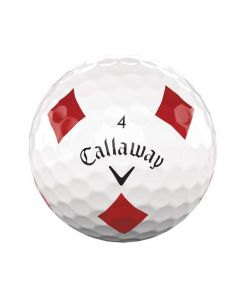 Callaway Chrome Soft Truvis Suits Diamonds Single Golf Ball