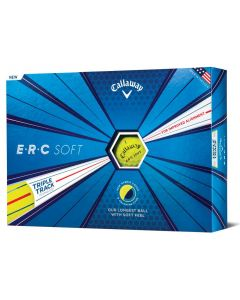 Callaway ERC Soft Yellow Golf Balls
