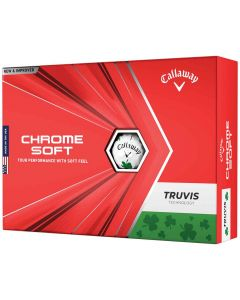 Callaway 2021 Chrome Soft Truvis Shamrock Golf Balls Lid