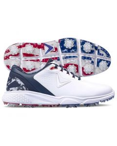 Callaway Coronado v2 Golf Shoes White/Blue/Red