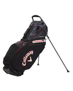 Callaway Fairway 14 Stand Bag Black Camo Red