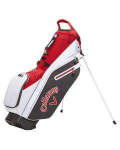 Callaway Fairway C Stand Bag Charcoal White Cardinal