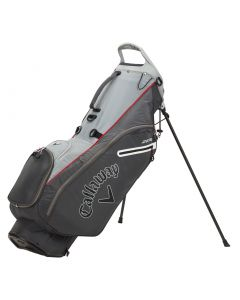 Callaway Hyperlite Zero Stand Bag Charcoal Silver White