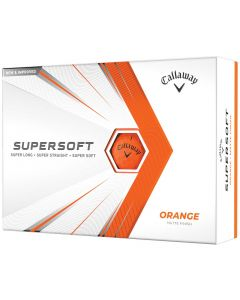 Callaway 2021 Supersoft Matte Orange Golf Balls