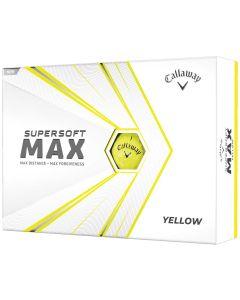 Callaway 2021 Supersoft Max Yellow Golf Balls
