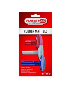Player's Aid Rubber Mat Tees Red/White/Blue