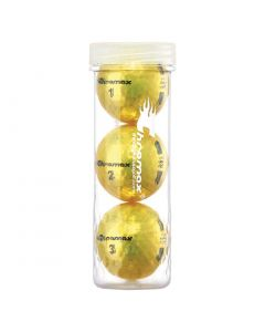 Chromax M5 3 Pack Golf Balls Yellow