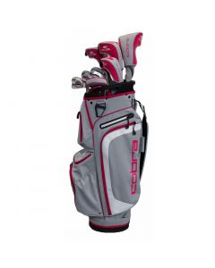 Cobra Women's XL Complete Set Silver/Pink