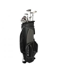 Cobra Women's Fly-XL Complete Set Silver/Plum w/ Stand Bag