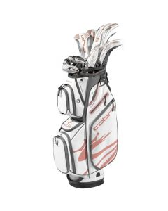 Complete Golf Sets Cobra Womens F Max Airspeed White Copper