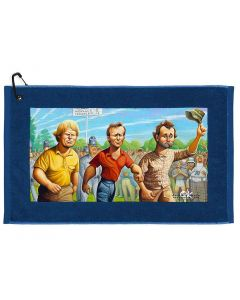Devant Caddyshack Collection Carl Spackler Towel Blue