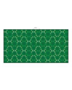 Devant Green Shamrocks Ultimate Microfiber Towel