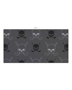Devant Grey Skulls Ultimate Microfiber Towell