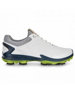 Ecco BIOM G 3 Golf Shoes White/Dark Petrol