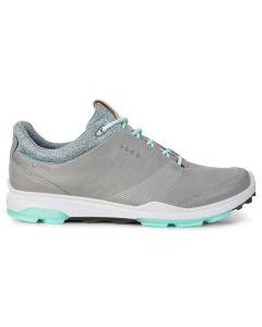 Ecco Women's BIOM Hybrid 3 GTX Golf Shoes Wild Dove/Emerald