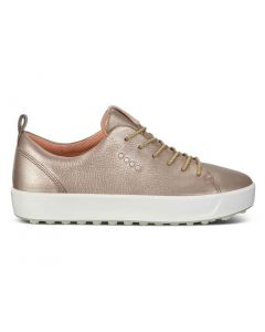 Ecco Women's Golf Soft Low Golf Shoes Rose Gold