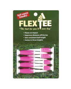 Charter Flex Tee Standard Golf Tees Pink