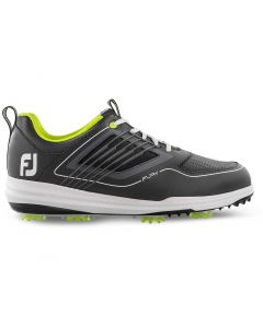 FootJoy FJ Fury Golf Shoes Charcoal/Lime