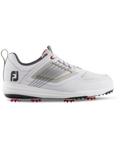 FootJoy FJ Fury Golf Shoes White/Red