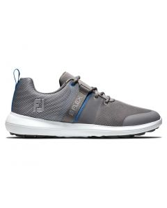 Footjoy Flex Golf Shoes Grey Profile