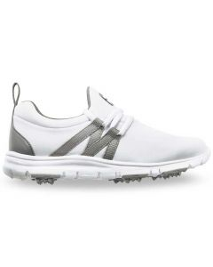 FootJoy Girls FJ Leisure Golf Shoes White/Grey