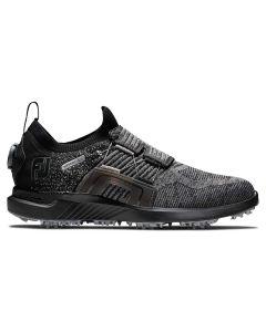 FootJoy HyperFlex BOA Golf Shoes Black/Charcoal