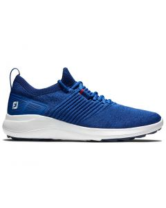 Footjoy Juniors Flex Xp Golf Shoes Blue Profile