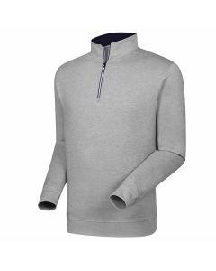 FootJoy Half-Zip Pullover Heather Grey