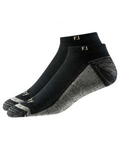 FootJoy ProDry Low Cut Socks (2-Pair) Black