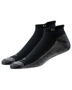 FootJoy ProDry Roll Tab Socks (2-Pair) Black