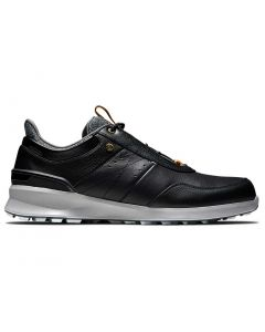 Footjoy Stratos Golf Shoes Black Profile