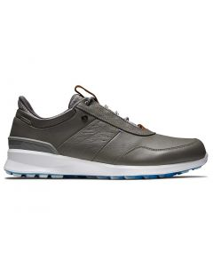Footjoy Stratos Golf Shoes Grey Profile