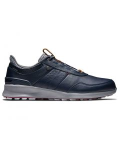 Footjoy Stratos Golf Shoes Navy Profile