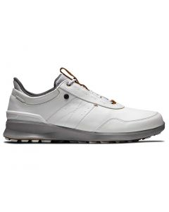 Footjoy Stratos Golf Shoes Off White Profile