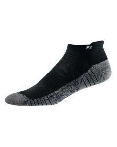 FootJoy TechSof Tour Roll Tab Socks Black