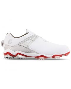 FootJoy Tour X Boa Golf Shoes White/Red